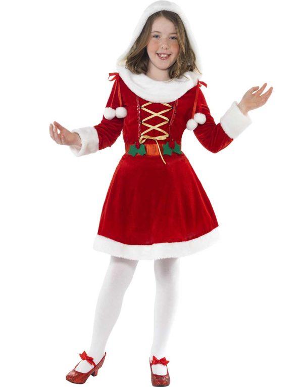 Julenissens Datter Barnekostyme