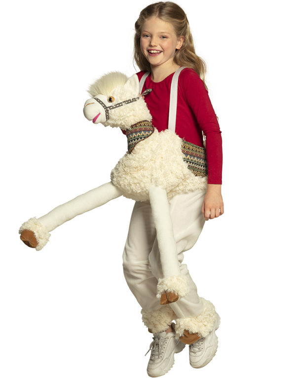 Lama Piggyback / Ride On Barnekostyme