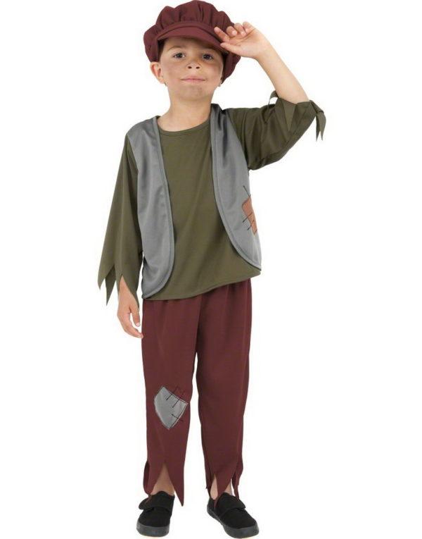 Lasaron / Fattig Gutt Barnekostyme