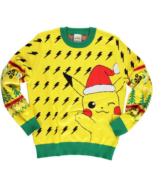 Lisensiert Gul Pikachu Julegenser