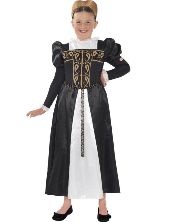 Mary Stuart - Dronningen av Skottland - Barnekostyme
