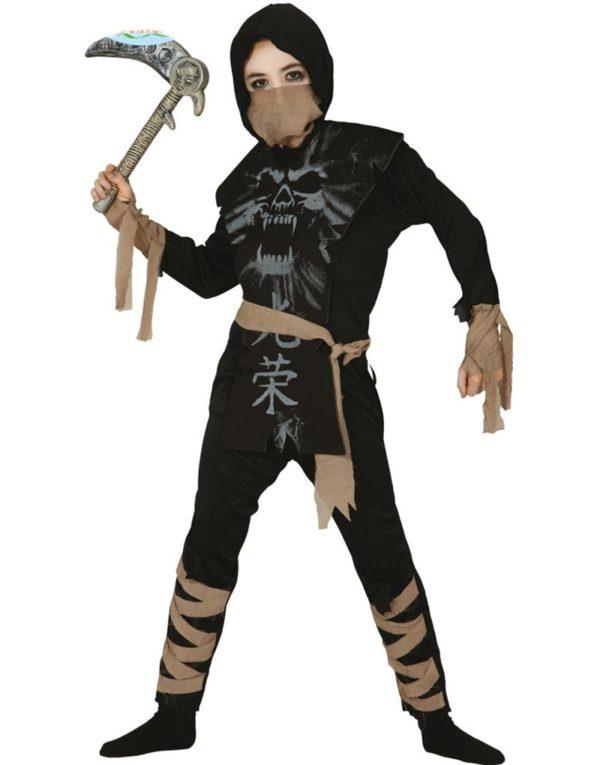 Mørkets Ninja Barnekostyme