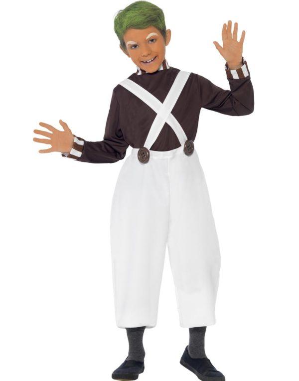 Ompa Lompa Kostyme til Barn