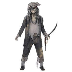 Pirat Spøkelse Kostyme - XL