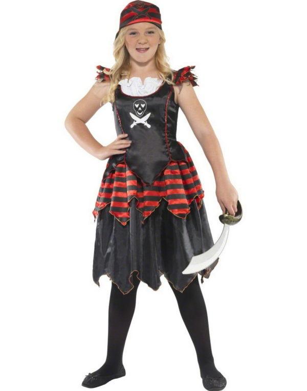 Piratenes Røver Prinsesse - Barnekostyme
