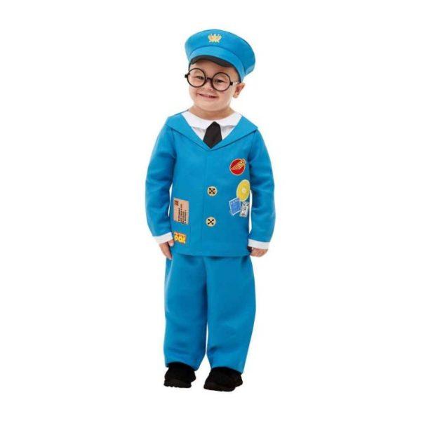 Postman Pat Barnekostyme 3-4 år