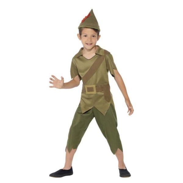 Robin Hood Barnekostyme - S