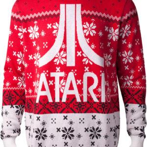 Rød Lisensiert Atari Julegenser