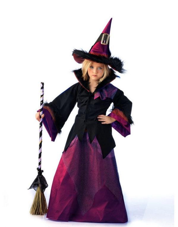 Skrekkens Heks - Luksus Barnekostyme