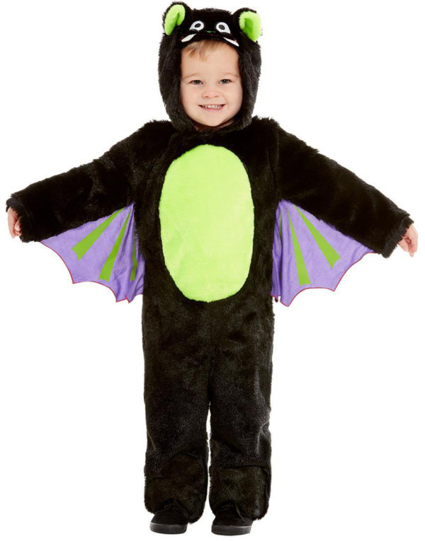 Søtt Flaggermus Barnekostyme