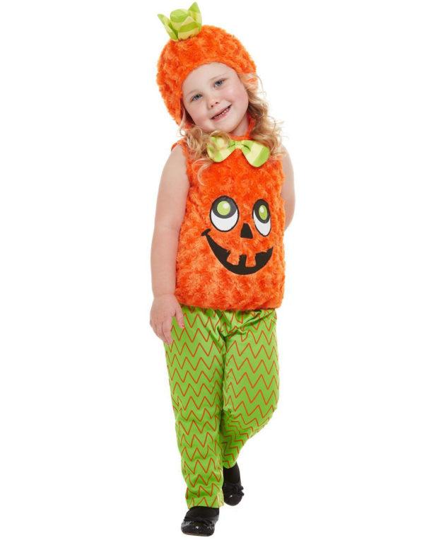 Søtt Plysj Gresskar Kostyme til Barn