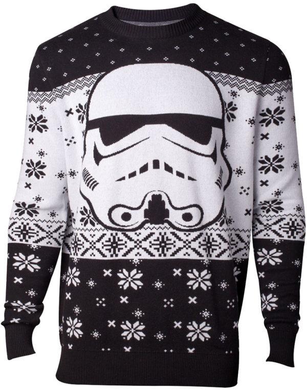 Star Wars Lisensiert Stormtrooper Julegenser