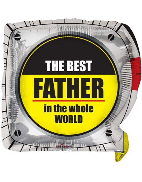 The Best Father in the Whole World - Folieballong 46 cm