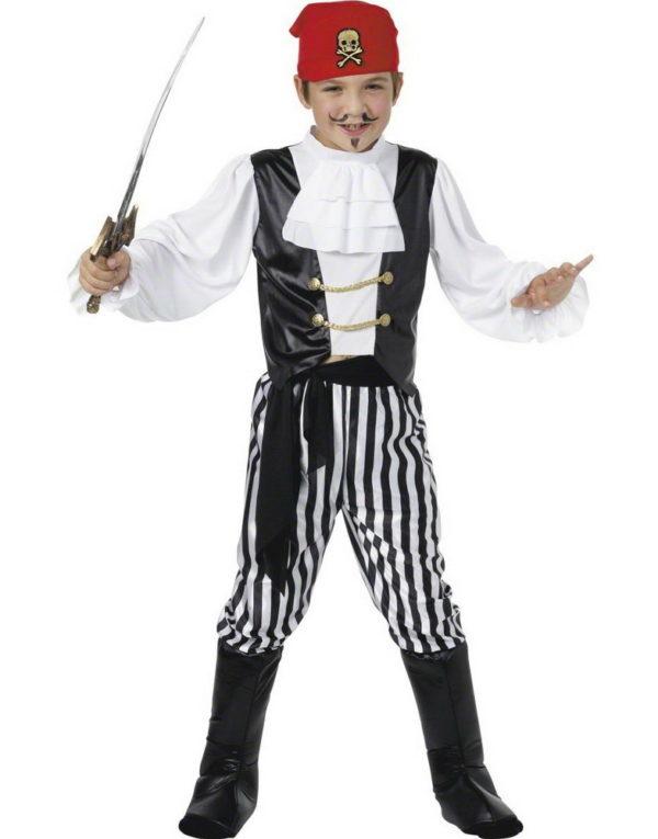 Ung Pirat Gutt - Komplett Barnekostyme