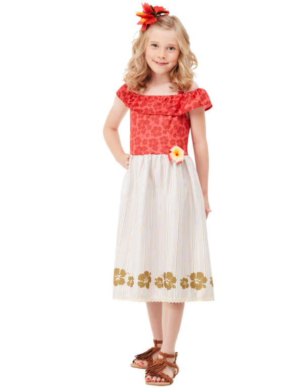 Vaiana Inspirert Kostyme til Barn