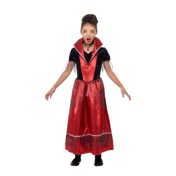 Vampyr Prinsesse Barnekostyme - S