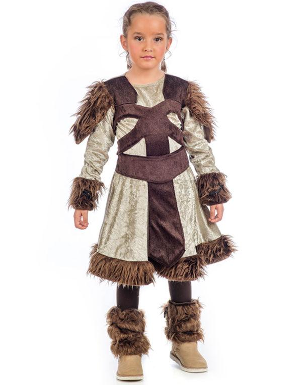 Vikingjenta - Luksuskostyme til Barn