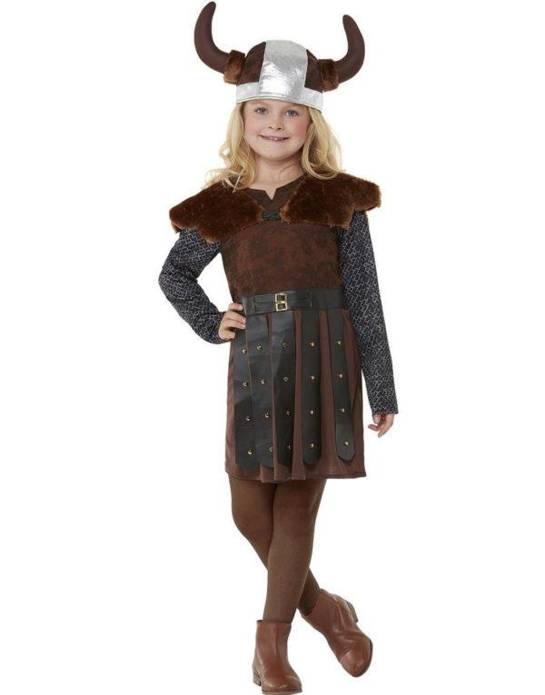 Vikingkostyme til Jente med Hatt