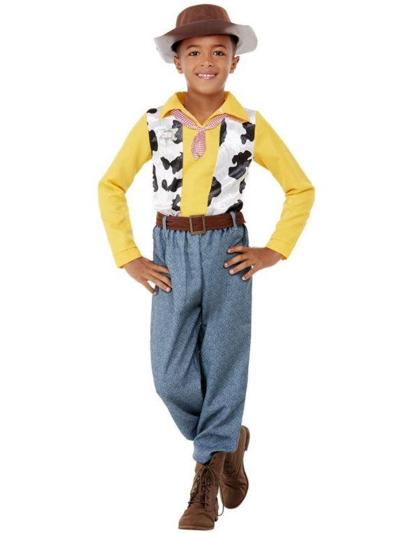 Western Cowboy Kostyme til Barn