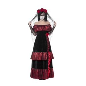 Day of the Dead Bride Kostyme - X1