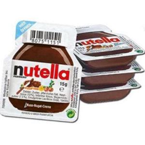 1 stk Nutella Sjokoladepålegg Porsjonspakke
