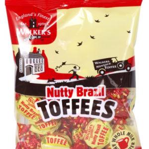 12 poser Walkers Nutty Brazil Toffees - Hel Eske
