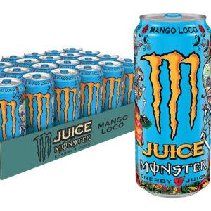 24 stk Monster Mango Loco 500 ml Energidrikk - Helt Brett