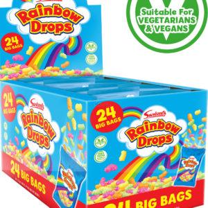 24 stk Swizzels Rainbow Drops 32 gram