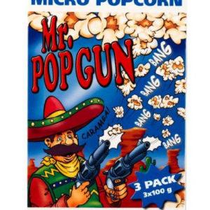 3 pk Mr. Popgun Micro Popcorn med Salt