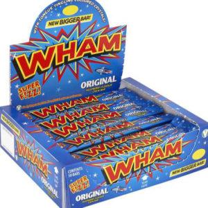 50 stk Wham! Chew Bar med Sure Krystaller