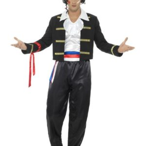 80 talls Adam Ant Kostyme - XL
