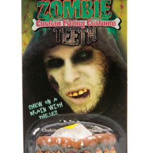 Billy-Bob Zombie Tenner - Løstenner med Fikserings Plastikk