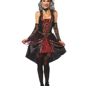Damask Vampire Queen - Luksuskostyme