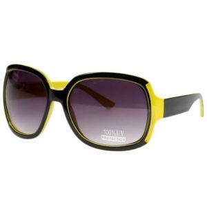 Demanding Diva - Gul/Svart Roxy Sammenlignbar Solbrille