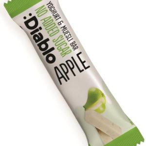 Diablo Musli Bar med Yoghurt og Eple 30 gram - Uten Tilsatt Sukker