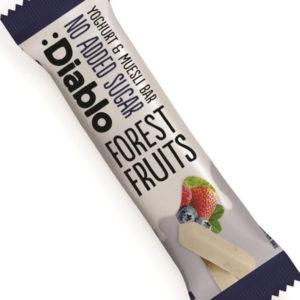 Diablo Musli Bar med Yoghurt og Skogsbær 30 gram - Uten Tilsatt Sukker