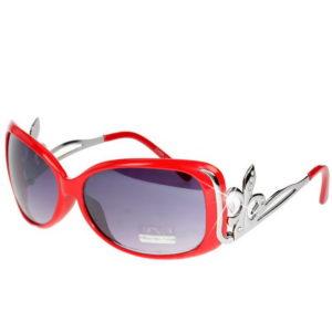 Diamond Scout - Rød Solbrille Sammenlignbar med Gucci