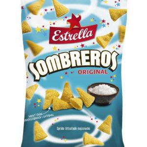 Estrella Sombreros Original med Salt 125 gram