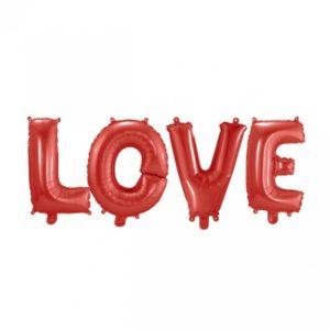 Folieballong Love 41 cm