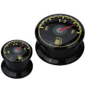 Fuel Indicator - Svart Piercing Plugg