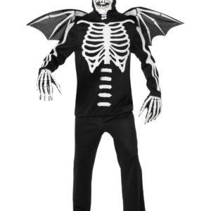 Gravens Demon - Komplett Kostyme med Maske - Strl M