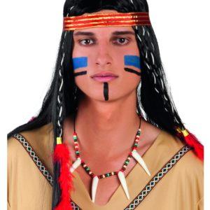 Indianer Kriger - Smykke med Perler