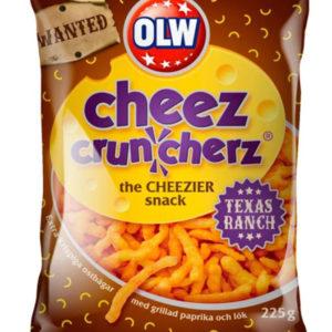 OLW Texas Ranch Cheez Cruncherz 160 gram