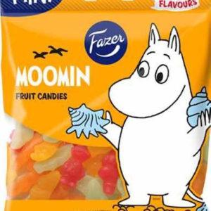 Pose med Fazer Moomin / Mummitrollet Vingummi 80 gram