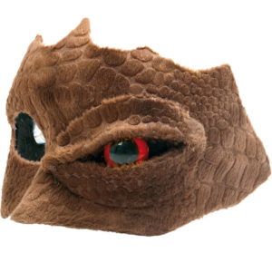 Reptile Humanoid Øyemaske