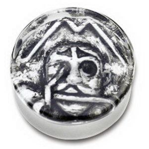 Scratch Pirat Skull - Piercing Plugg