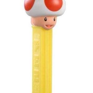 Super Mario Toad Pez-Holder med 2 stk Pez Pakker