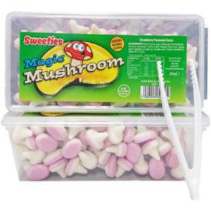 Sweeties Magic Mushroom / Boks med Skum Sopper 200 gram